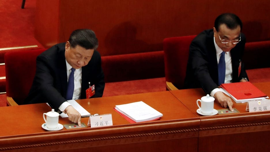 China parliament advances Hong Kong security law