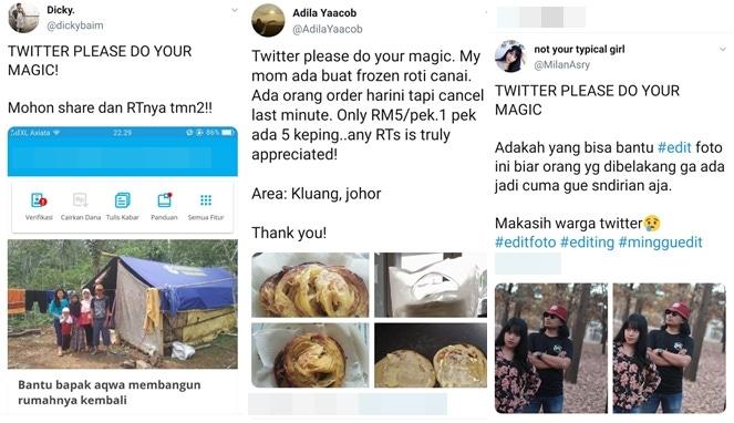 Twitter Please Do Your Magic, Mantra yang Bisa Bikin Laris Lapak ...