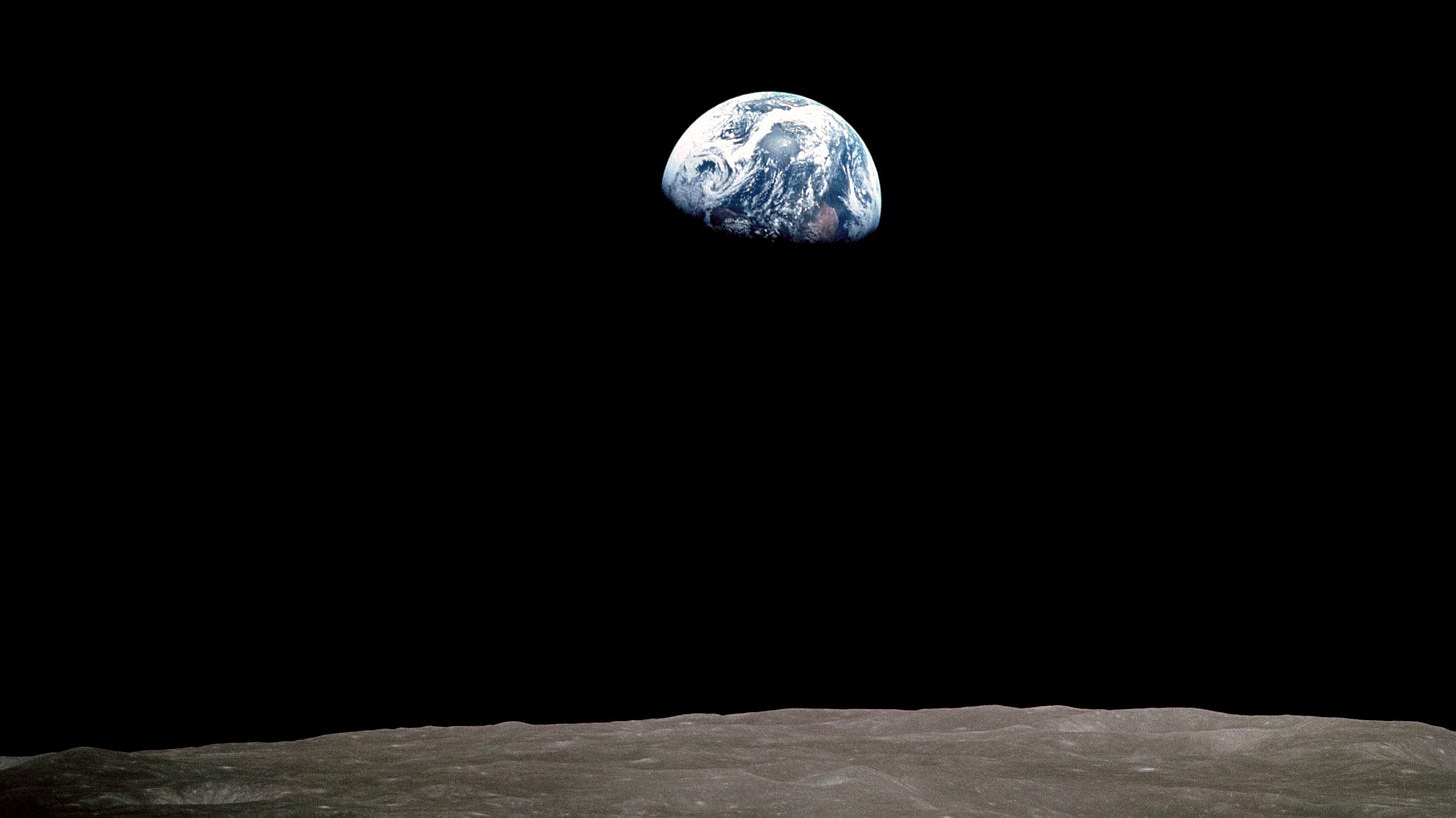 Earthrise,' the Photo That Propelled the Environmental Movement and Led to  Earth Day | Chicago News | WTTW