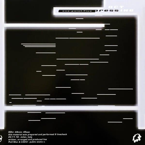 PLO Man & C3D-E – public static v. (2021, Vinyl) - Discogs