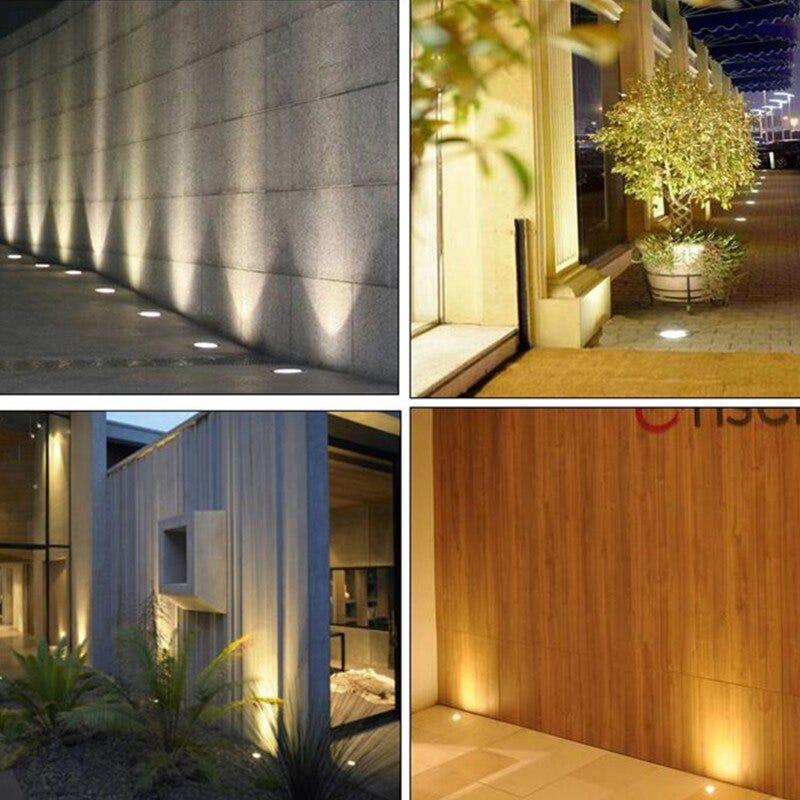 Free shipping 10w LED Underground Buried lamp Garden Outdoor Inground lamp Warm White/White/Cool White AC85-265V