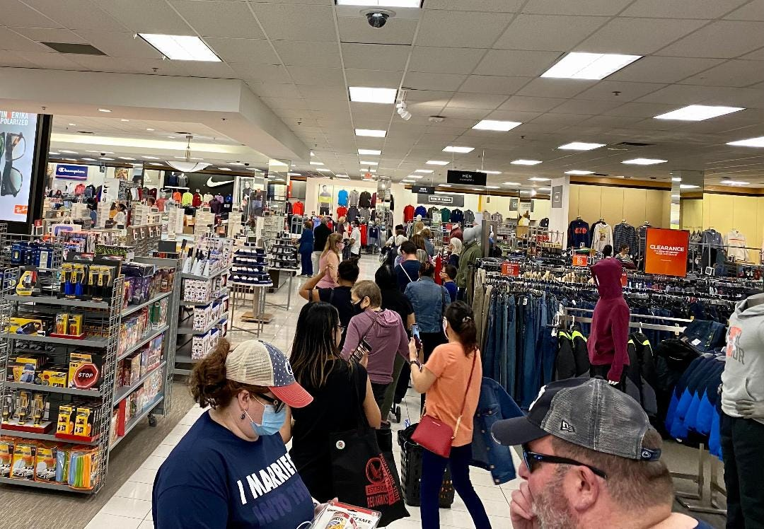 long lines at retail. www.3peconsulting.com