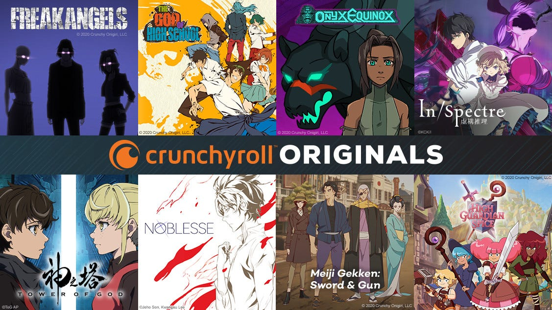 Crunchyroll announces first slate of original animated shows - The Verge