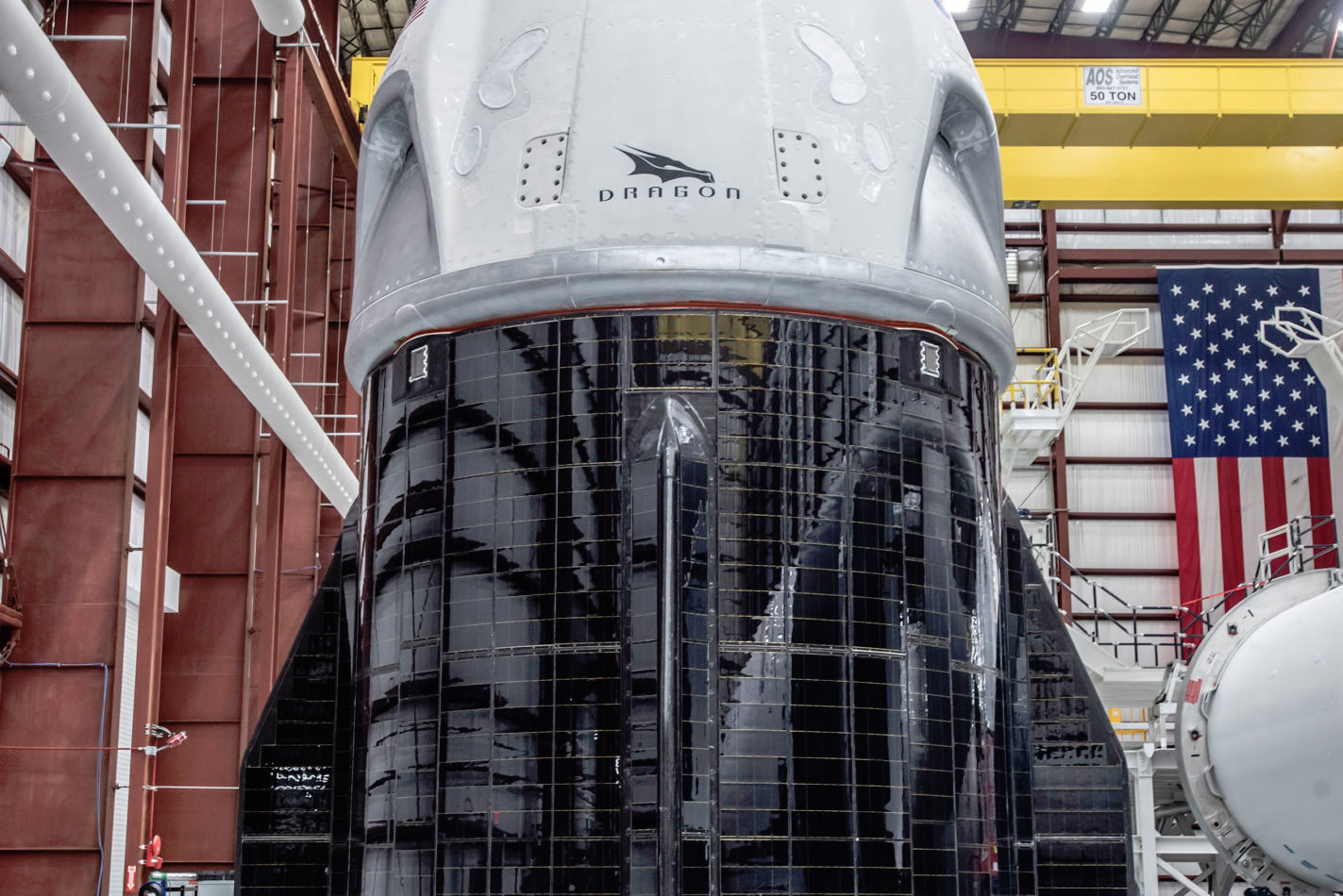 SpaceX shows off Crew Dragon's integrated solar panels for the ...