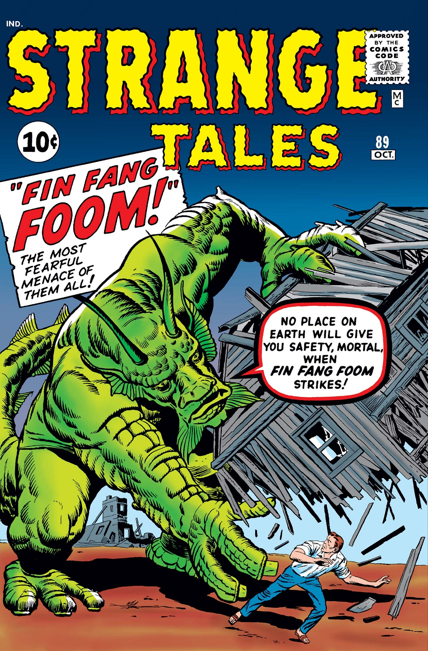 Strange Tales (1951) #89   Comic Issues   Marvel