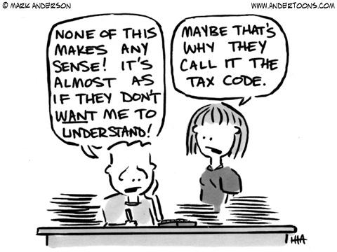 Tax Cartoon #2110 ANDERTOONS TAX CARTOONS | Accounting ...