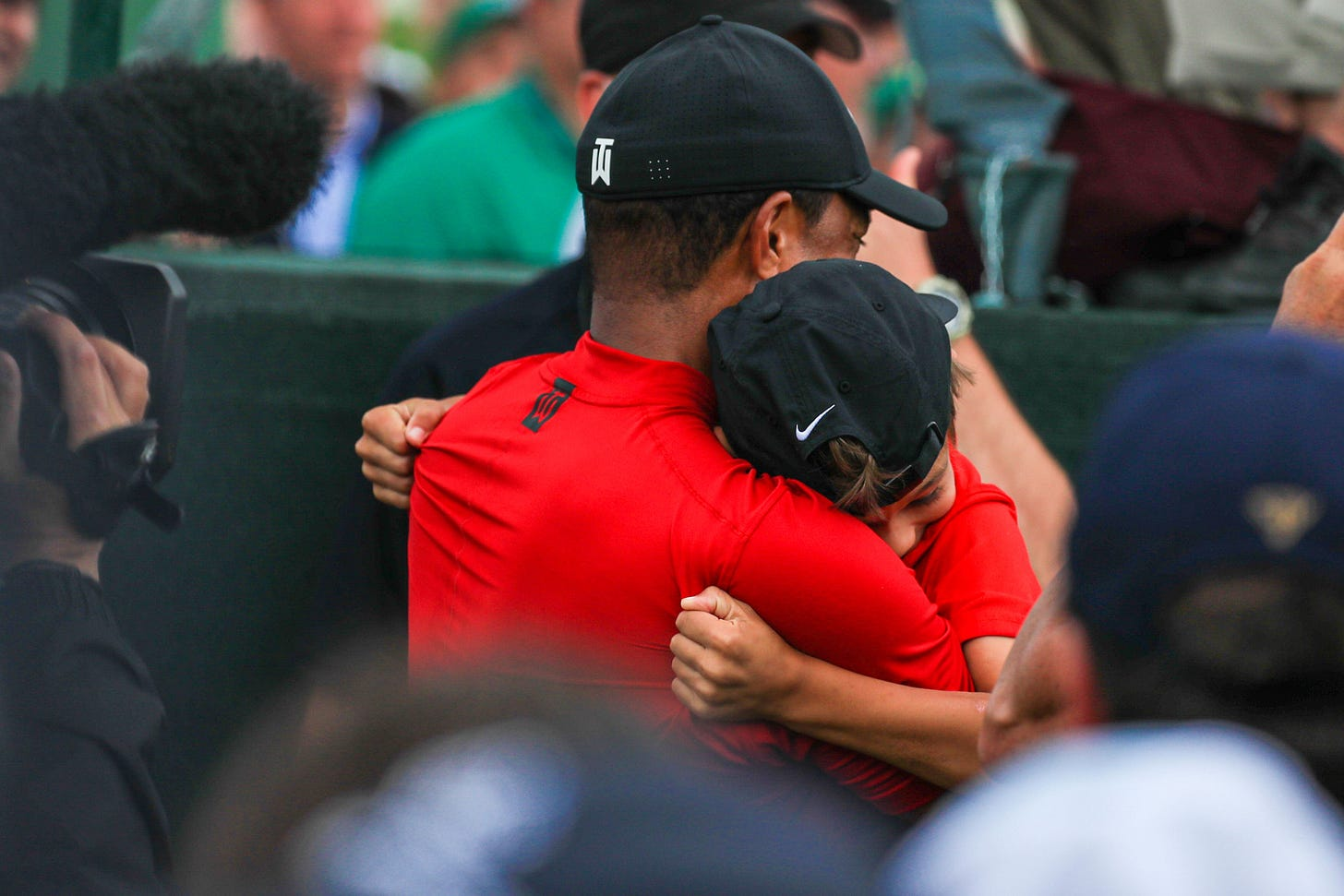 Tiger Woods says best part of 2019 Masters win remains celebrating with his  kids   Golf News and Tour Information   Golf Digest