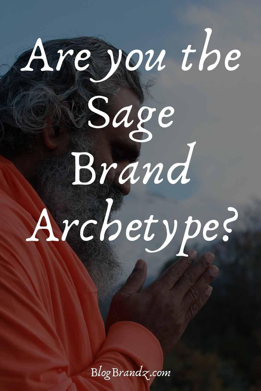Brand Archetype Sage