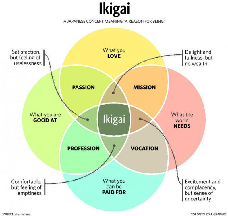 FIND YOUR IKIGAI  Your true purpose image 0