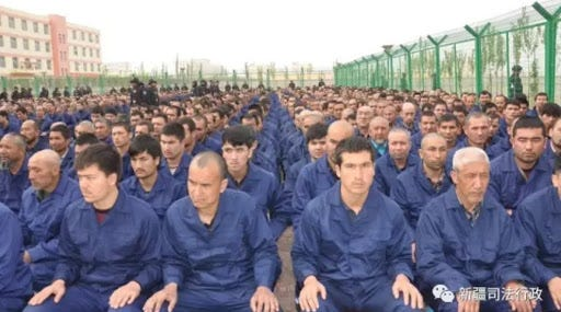 """CHINA-UN UN visit to Uyghur camps just Chinese """"deception"""""""