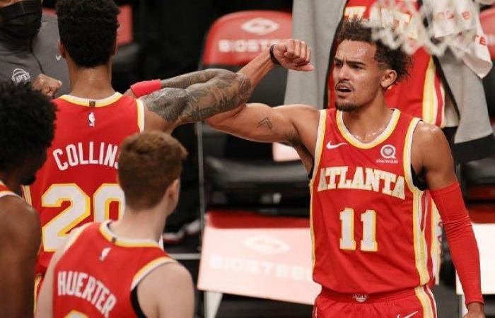 Insulted the whole game, Trae Young explains his celebration