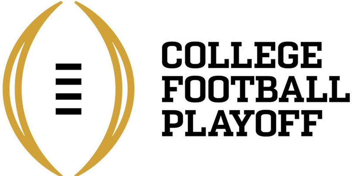 No.1 Alabama leads final College Football Playoff rankings