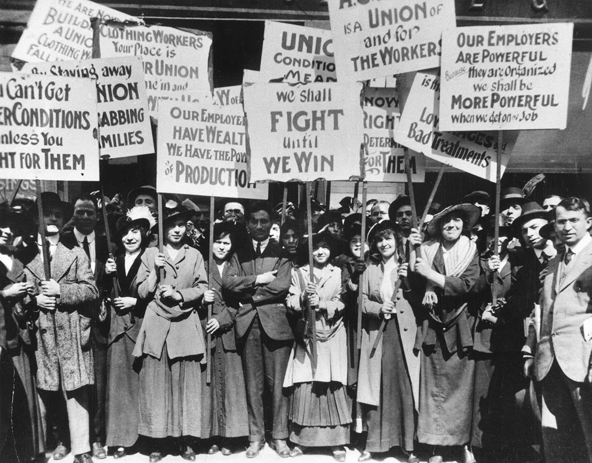Union Made' exhibit showcases labor, fashion history | Cornell ...