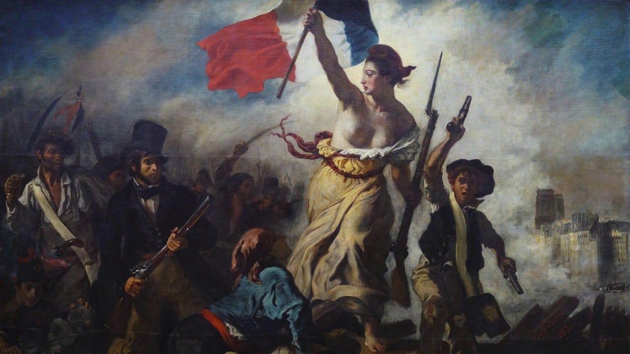 Image result for france revolution painting
