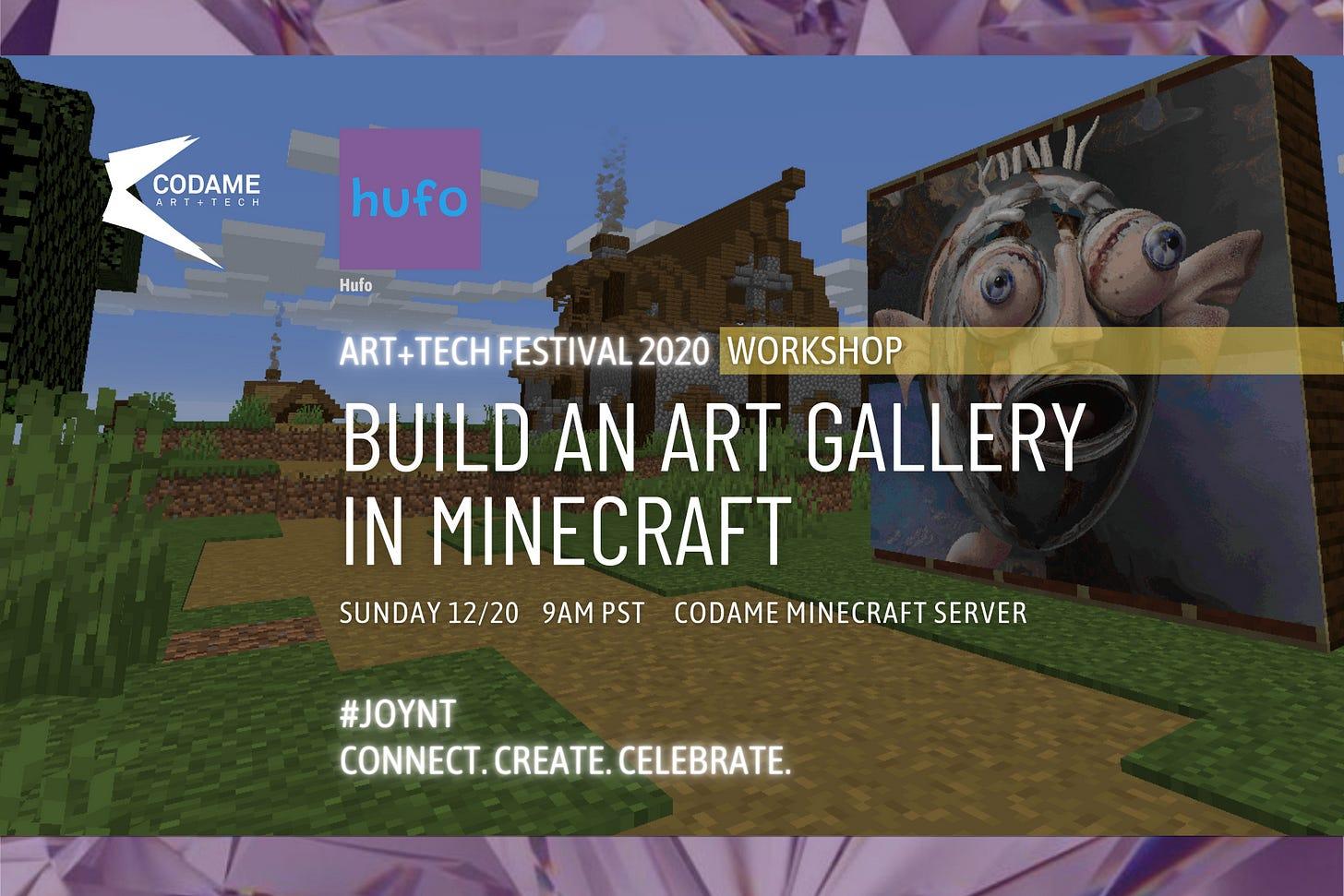 Build an Art Gallery in Minecraft
