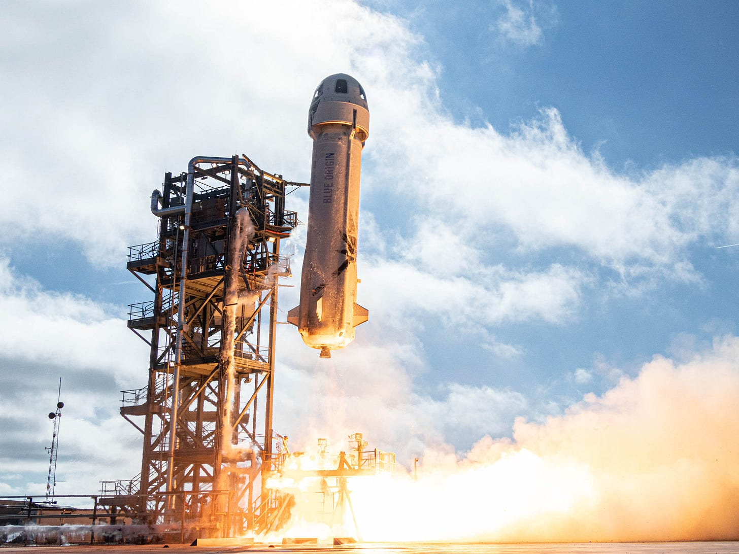 Jeff Bezos and Blue Origin Are Finally Flying to Space - Scientific American