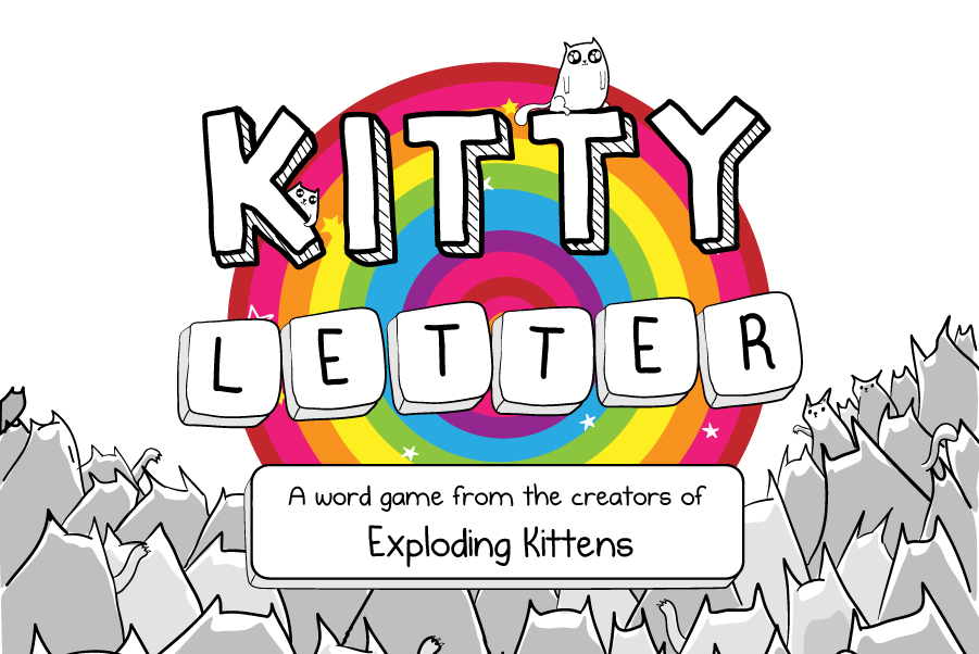 Kitty Letter - A free mobile game from the creators of Exploding Kittens -  The Oatmeal
