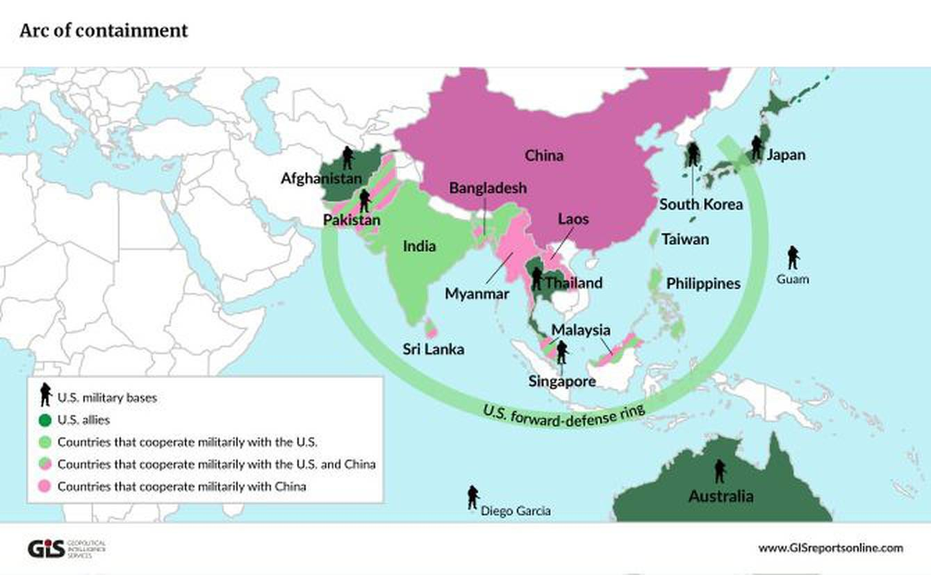 Image result for asia defense map
