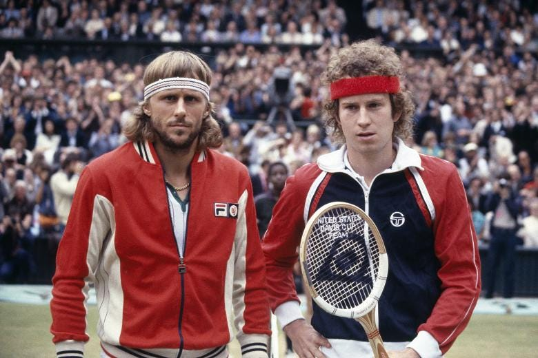 New film explores fiery rivalry of tennis greats Borg, McEnroe - SAMAA