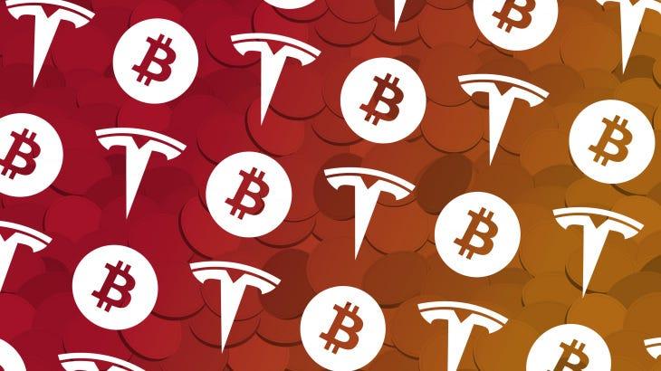 Image result for tesla bitcoin
