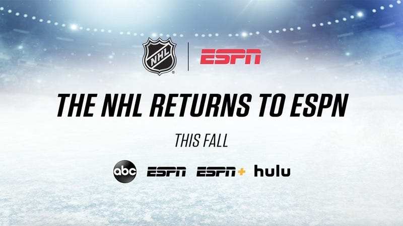 Disney's ESPN, ABC announce comprehensive NHL broadcast, streaming  agreement - ABC7 Los Angeles