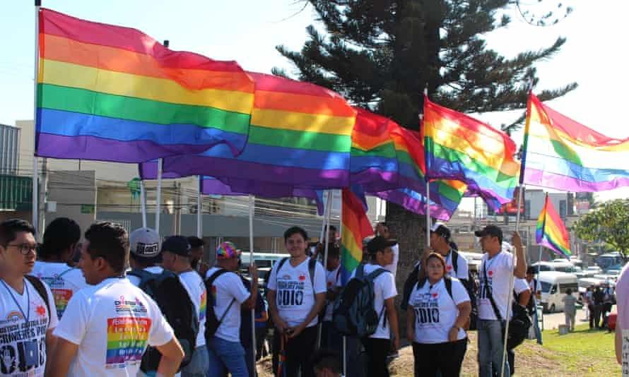 Colectiva Venus campaigners in El Salvador