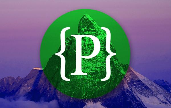 Pinnacle logo with mountain