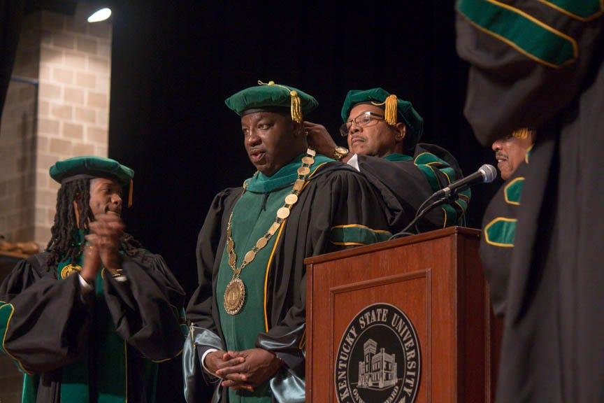 Kentucky State University installs Brown as 18th president | Kentucky Today