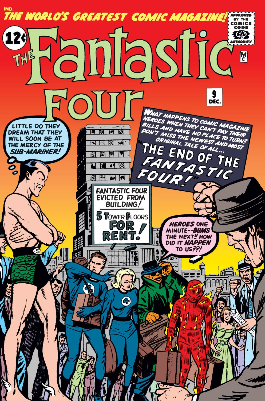 Fantastic Four (1961) #9   Comic Issues   Marvel