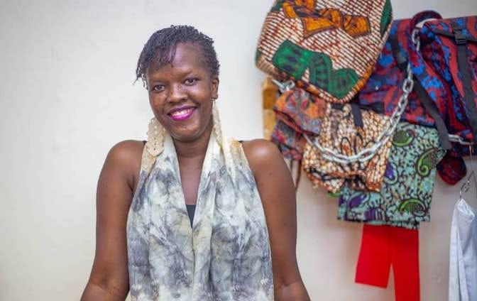 Eco Fashion_Gulu_Uganda Sharon Anena Foto_1