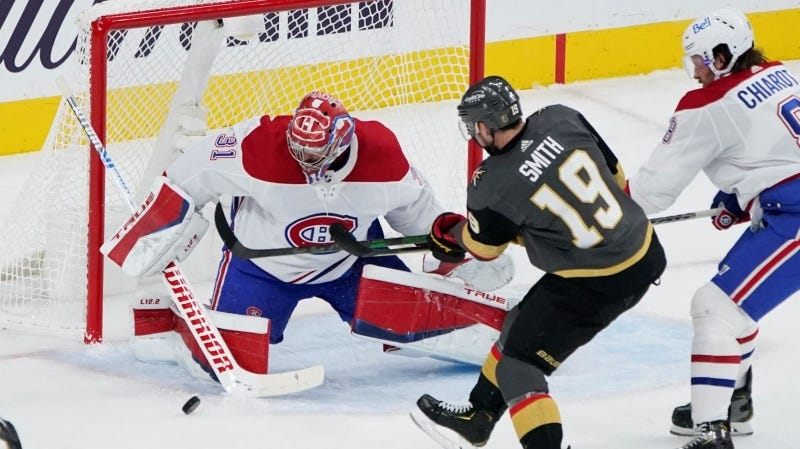 Canadiens take 4-1 loss to Vegas Golden Knights in Stanley Cup semifinal  opener | CTV News