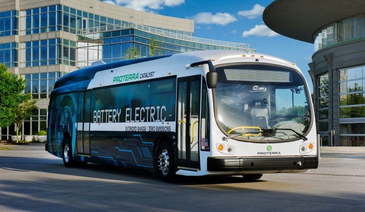Proterra Set To Take Heavy-Duty Electric Vehicle Business Public via SPAC  Transaction | Greentech Media