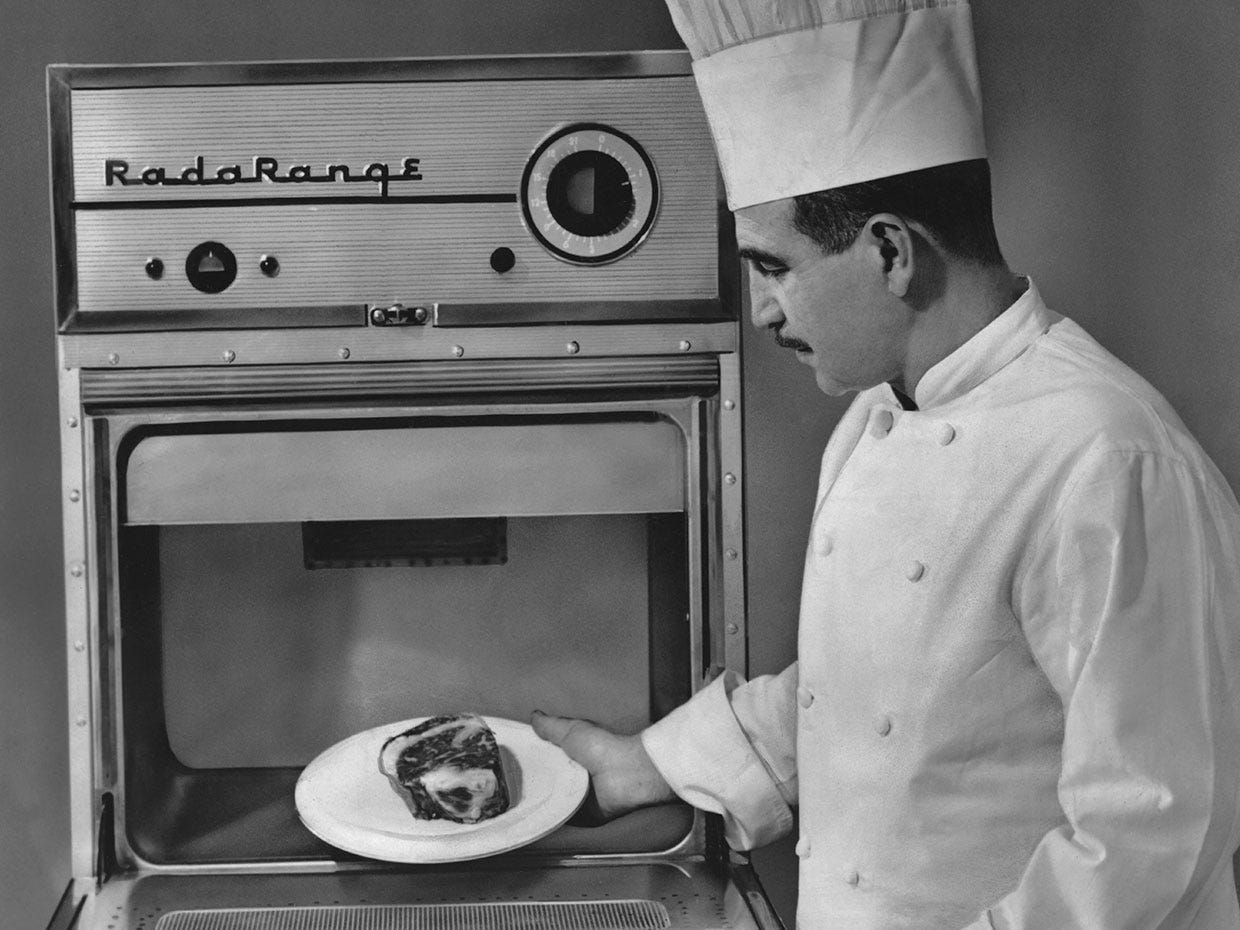 A History of the Microwave Oven - IEEE Spectrum