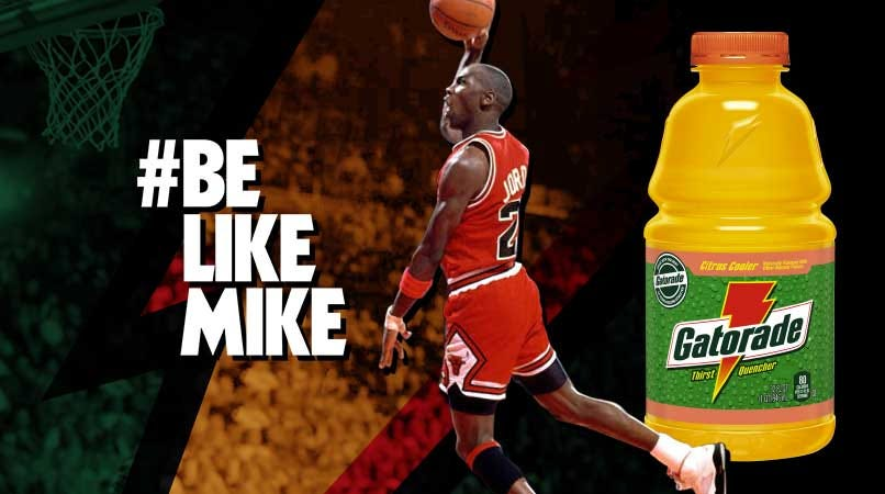 "Gatorade on Twitter: ""Fly down memory lane. #BeLikeMike #FlashbackFriday  http://t.co/Cm4Ng1Njhn"""