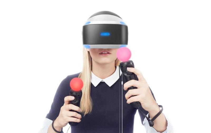 Шлем виртуальной реальности Sony