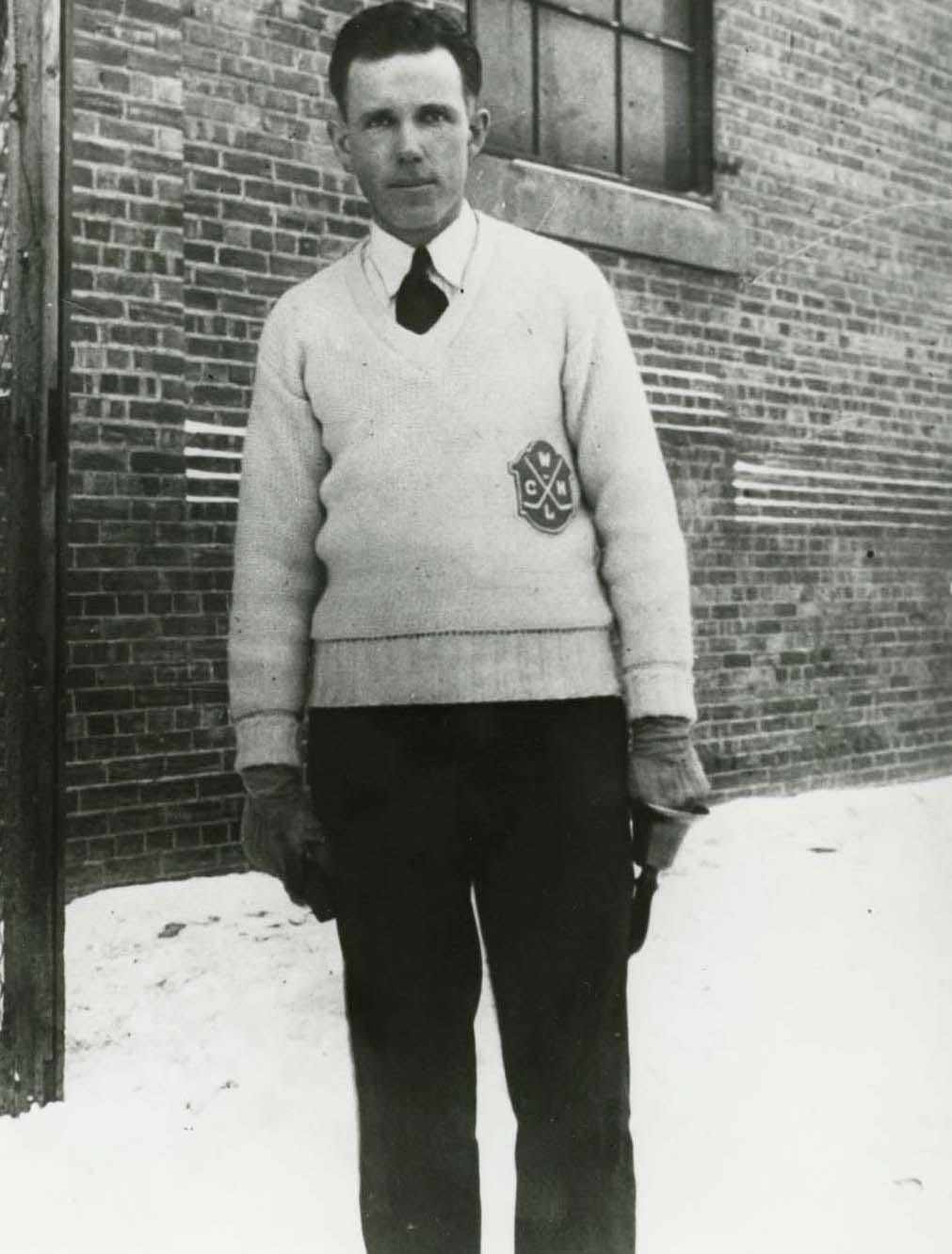 Clarence Campbell OBE - Saskatchewan Sports Hall of Fame