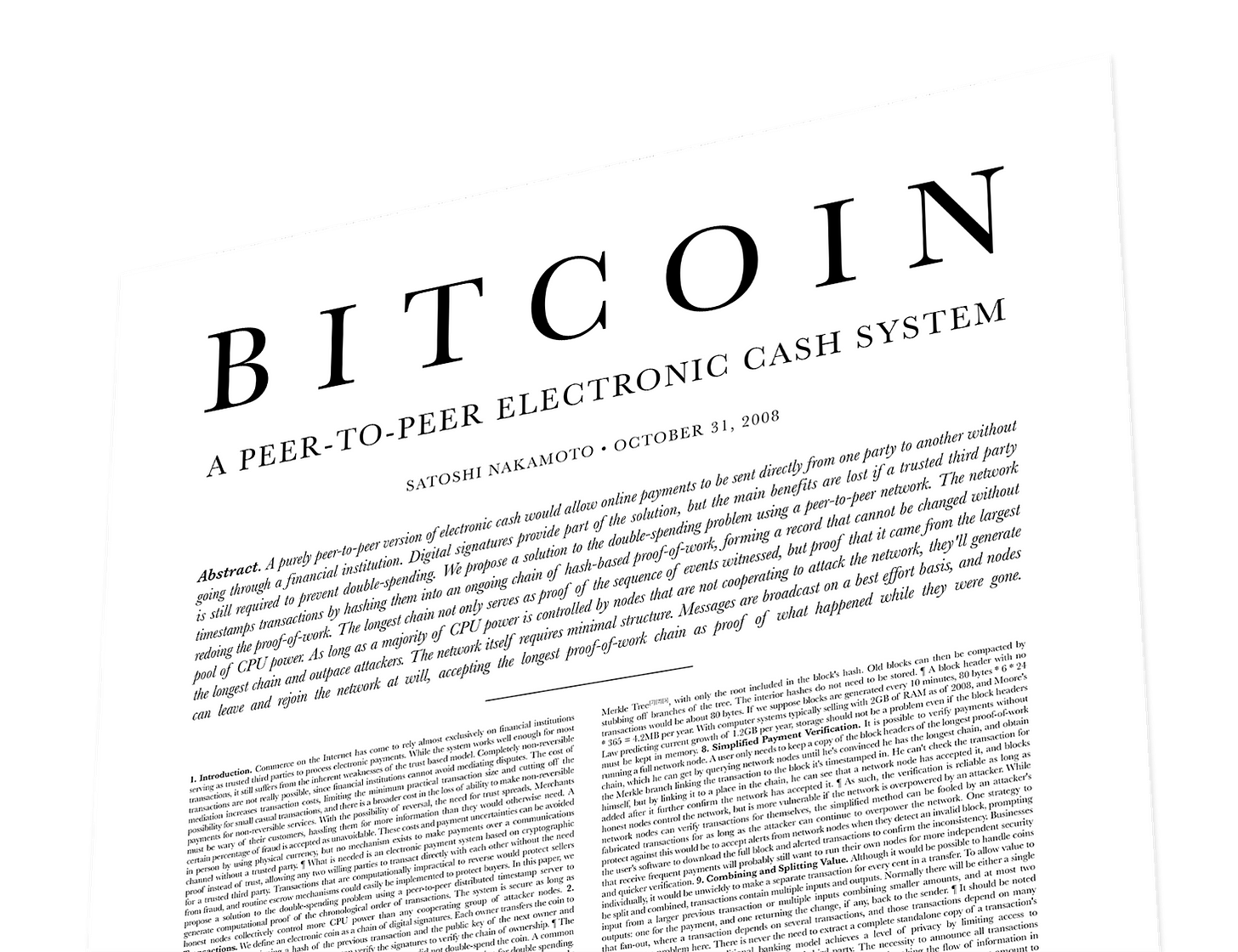 The Bitcoin Whitepaper after Ten Years | Clark Moody Bitcoin