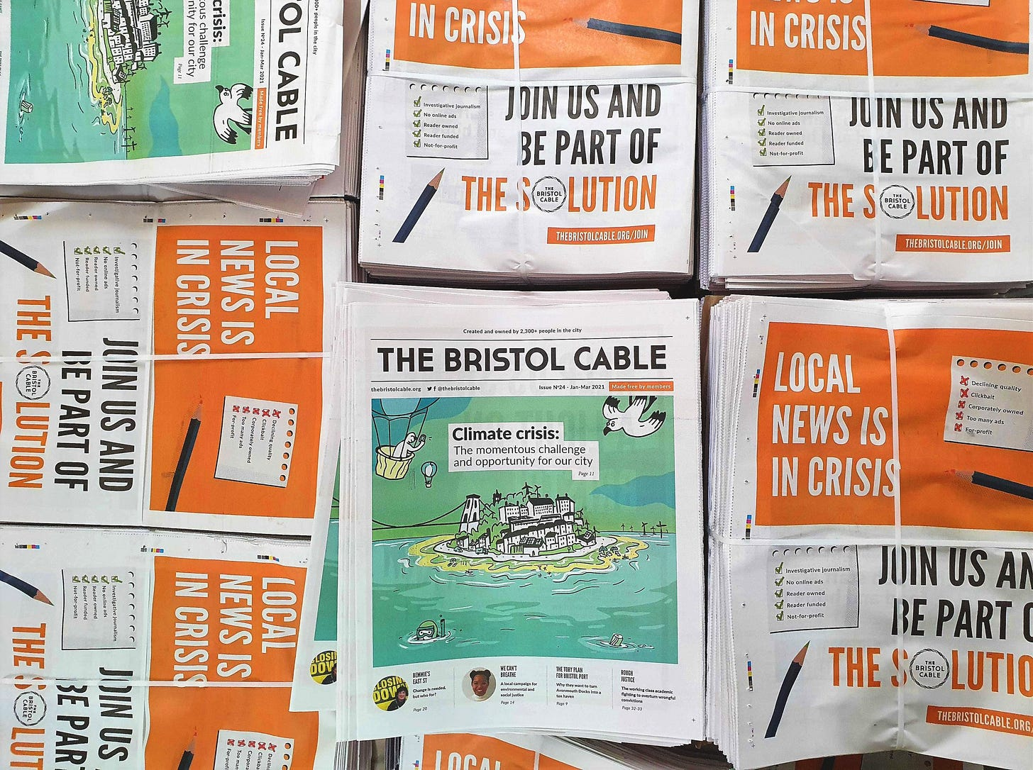 Join — Membership — The Bristol Cable