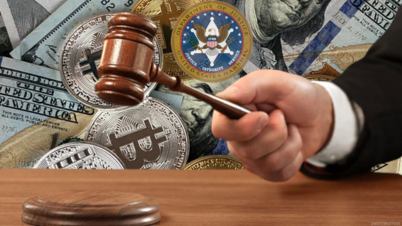 bail, bitcoin, us marshals, auction, blockchain