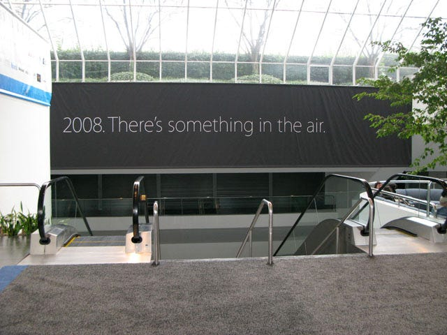 Image result for there's something in the air apple