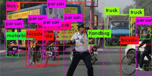 YOLOv3 object detection
