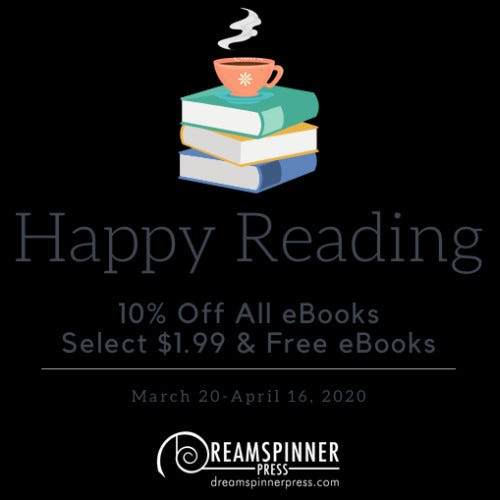 Happy Reading: 10% Off eBooks and Select $1.99 and Free eBooks