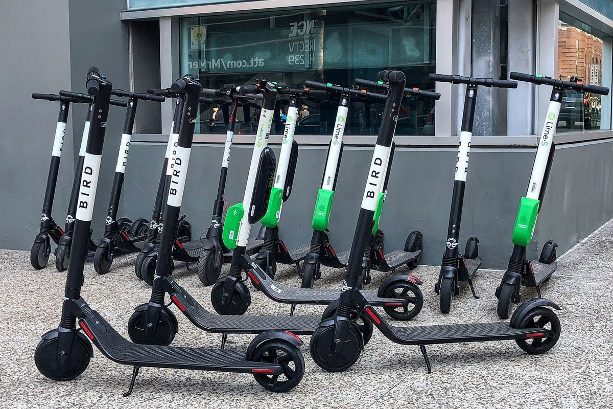 electric-scooter-rentals-bird-lime