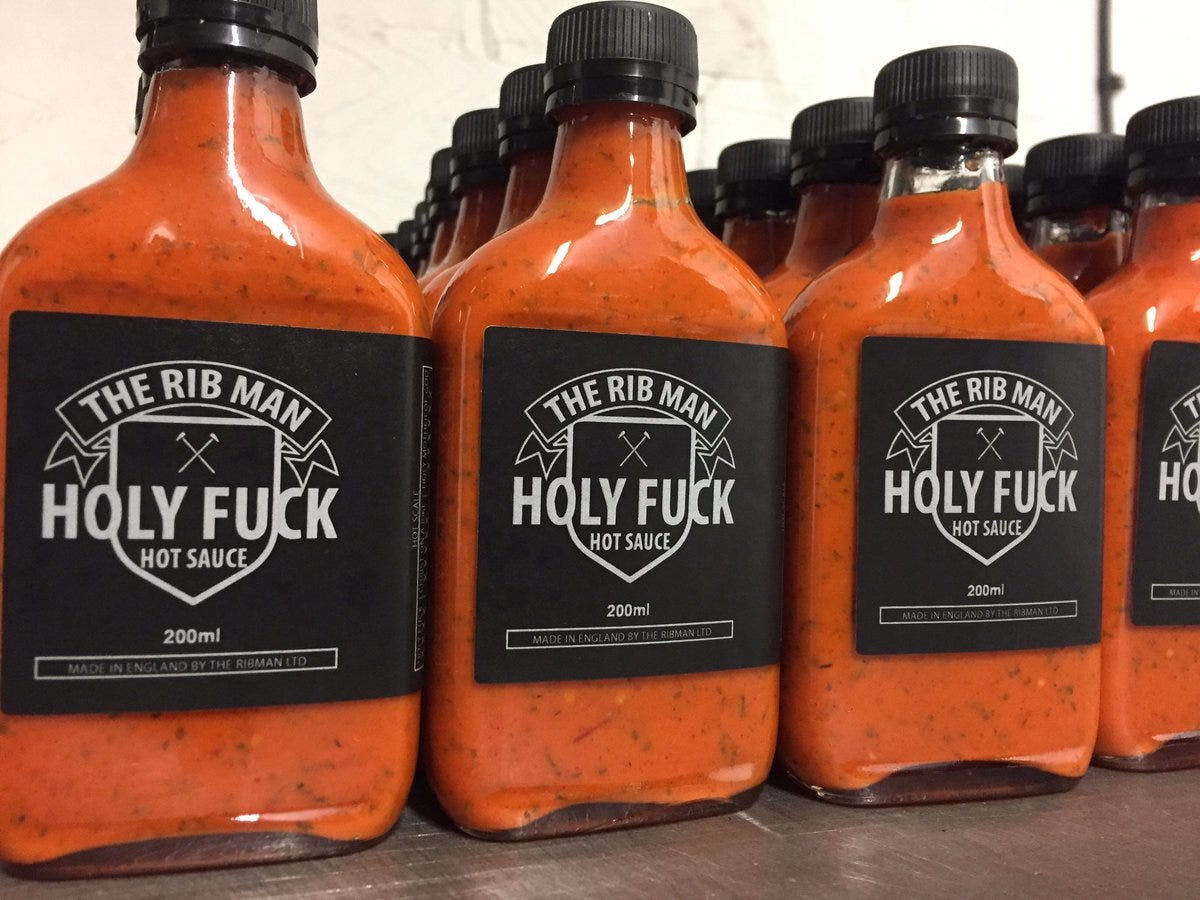 Image result for holy fuck hot sauce