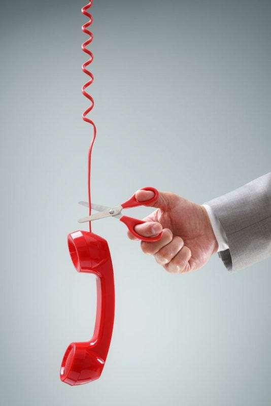 New ISDN Cut-off-Telephone-line-being-cut-scissors-compressor ...