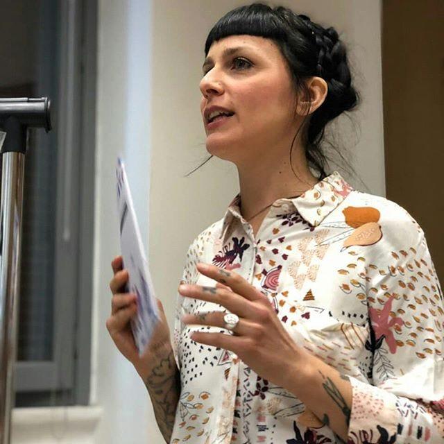 Valeria Foschetti de La Fanzinoteca La Pipette Noir