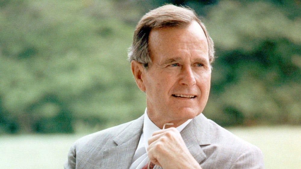 Image result for george hw bush