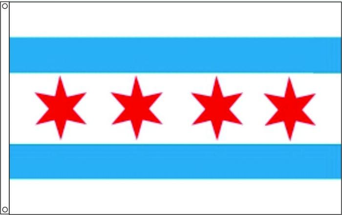 Image result for chicago flag
