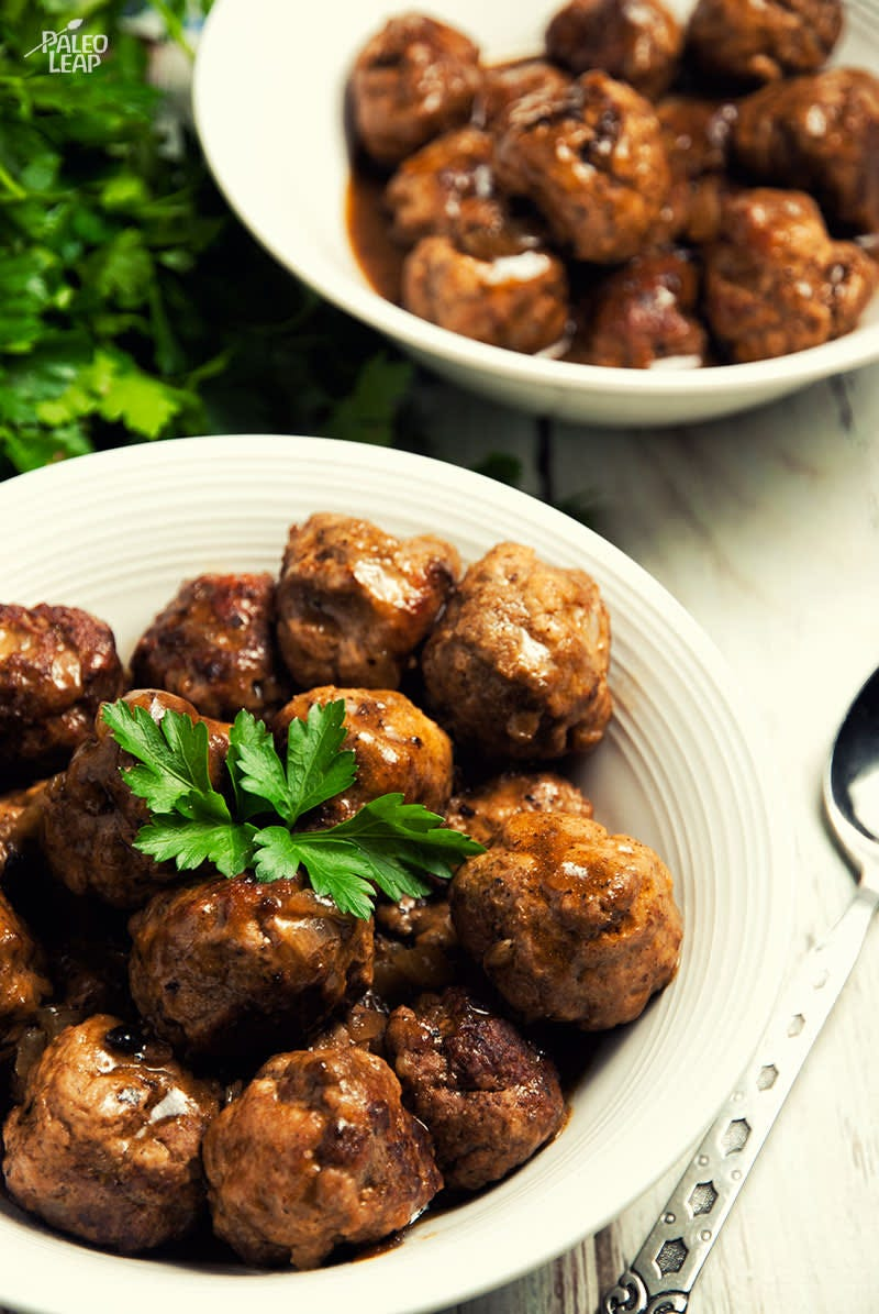 home made meat balls for healthy living