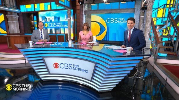 CBS This Morning Ed Sullivan Theater March 18